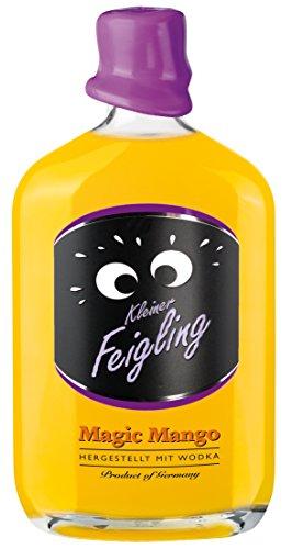 Kleiner Feigling | Magic Mango | 1 x 500ml | Marken-Spirituose | Premium Likör | Feiern mit Fantasie | Der Party – Shot