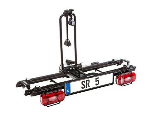 Bullwing SR5 Fahrradträger Anhängerkupplung E-Bike geeignet für 2 Fahrräder zusammenklappbar Fahrradheckträger Kupplungsträger Fahrradhalter Kupplung