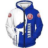 Schumann Hoodies,Chaquetas,Camiseta Yam-Aha Punisher 3D Completo Impresión Delgado Hombre Y Mujer Casual Poliéster Sweatshirt Deportes / B1 / XL