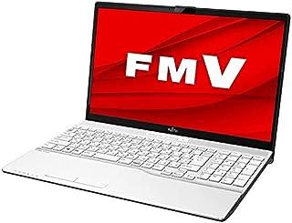 富士通 ノートパソコン FMV LIFEBOOK AH50/D3 15.6インチ Core i7 SSD 256GB 4GBメモリ Microsoft Office 2019 Home & Business搭載 FMVA50D3WP-K2427...