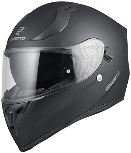 Bogotto V128 Helm Schwarz Matt M