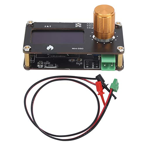 Módulo de osciloscopio, Mini Osciloscopio PCB Proceso de estañado Completo Osciloscopio Tipo C Tablero de osciloscopio para componentes industriales para componentes electrónicos