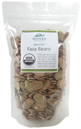 Organic Fava Beans - 2lbs (Hunza)