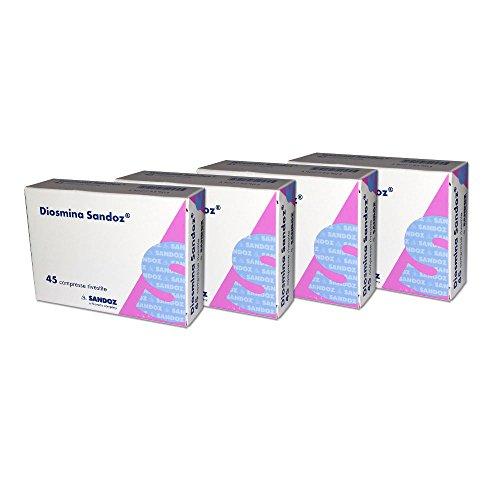 OFFERTA 4X SANDOZ DIOSMINA 45 CPR - Integratore di Bioflavonoidi 180 CPR TOTALI (COME DAFLON)
