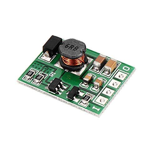 Módulo electrónico DC 6V Step Up Boost Converter Voltage Regule la placa del módulo de la fuente de alimentación con Habilitar ON/OFF 5pcs Equipo electrónico de alta precisión