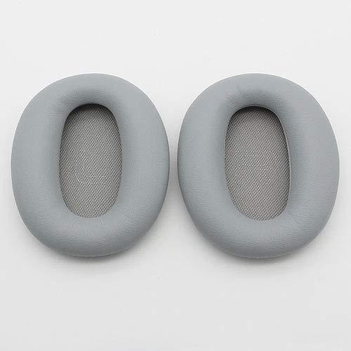 Headset Foam Cusion Replacement earpads for Edifier W820BT earpads Soft Comfortable Protein Sponge Cover,Grey