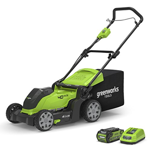 Greenworks Tool Cordless Lawnmower G40LM41K2...