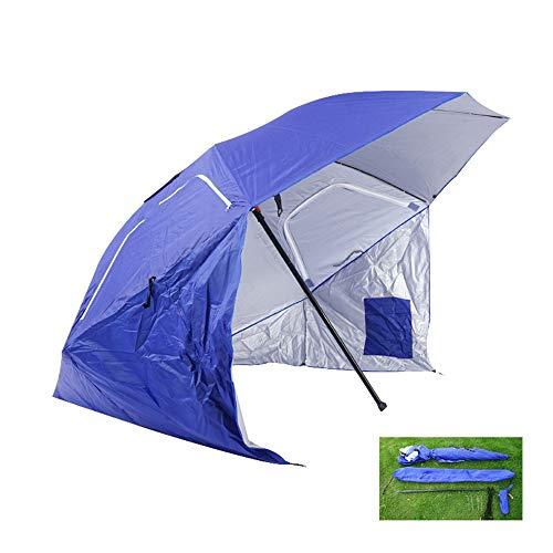 Grand Extérieur Plage Parasol,Parapluie Extérieur Portable De Protection UV, Auvent Avec Prise de Terre Parapluie À Baldaquin , Utilisé Pour Les Événements de Plage et Sportifs, Parapluie de Pêche
