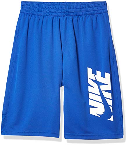 Nike Jungen B NK HBR Short Sport, Game royal/(White), L