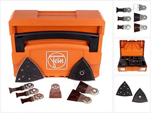 Fein 33901146220 Zubehör-Systainer Edition 2017 | befüllt | perfekt Oszillierer, Orange