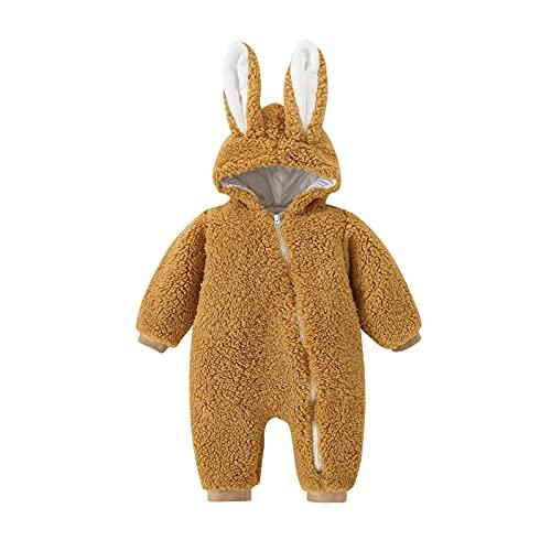 YQSR - Mono de beb con capucha y manga larga para beb