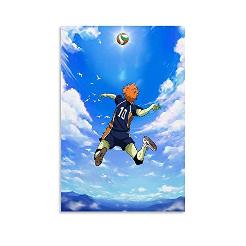 TOUKUI Anime Fantasy Landscape Art - Póster artístico sobre lienzo (60 x 90 cm)