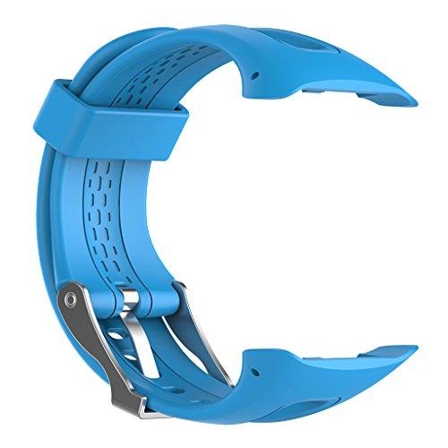 NA. RipengPI correa de reloj correa de muñeca de silicona deportiva correa correa para Garmin Forerunner10/15 reloj inteligente masculino