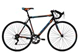 KS Cycling Rennrad 28'' Piccadilly schwarz-orange-blau RH 56 cm