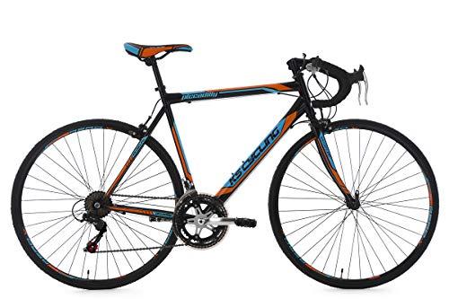 KS Cycling Rennrad 28'' Piccadilly schwarz-orange-blau RH56cm