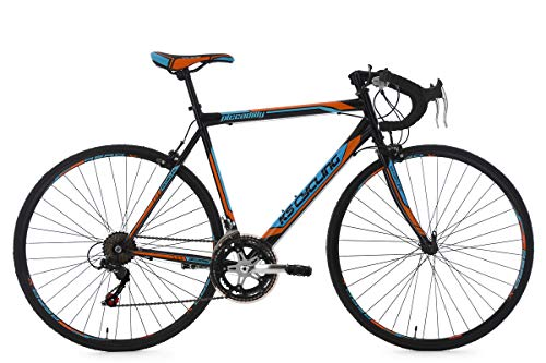 KS Cycling Rennrad 28\'\' Piccadilly schwarz-orange-blau RH 59 cm