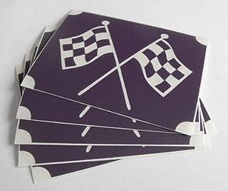 GLITTER TATTOO 5x stencil car racing soap box checkered flags glitter tattoo