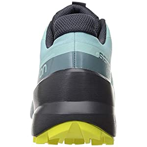 Salomon Women's Speedcross 5 GTX Trail Running Shoe (Pastel Turquoise/Ebony/Evening Primrose, Numeric_7)
