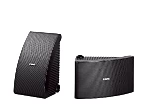 Yamaha NS-AW592BL All-Weather Speakers (Pair, Black)