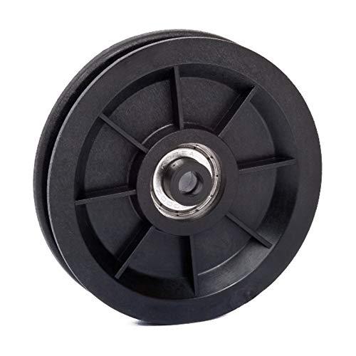 Seilrolle, Drahtseilrolle, Durchmesser Ø 90 mm, für Seile bis Ø 7 mm - Made in Germany