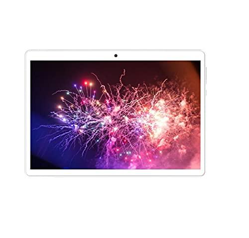 10.1 Pulgadas 1280x800 IPS 2G RAM 32G ROM Android 10.0OS ibowin Tablet PC Quad-Core WiFi GPS 3G SIMFREE Celular Desbloqueado PlayStore Cámaras (Dorado)