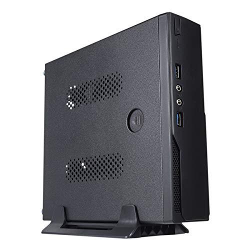 v UK 1003 Mini-Tower Nero 120 W - Case per computer (Mini-Tower, PC, ABS sintetico, SGCC, nero, Mini-ITX, 3 cm)