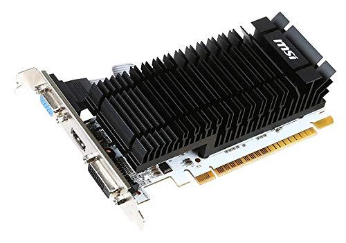 MSI GeForce GT 730 2 GB DDR3 Passiv Silent DVI VGA HDMI PCI-E #110601