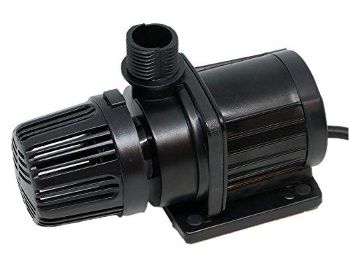 HSBAO DEP-1200 吐出量1500L/H (毎分25L) 揚程1.6m DCポンプ 水中ポンプ 水槽ポンプ 省エネ 低騒音 99段階流量調整 オーバーフロー水槽に最適1.2