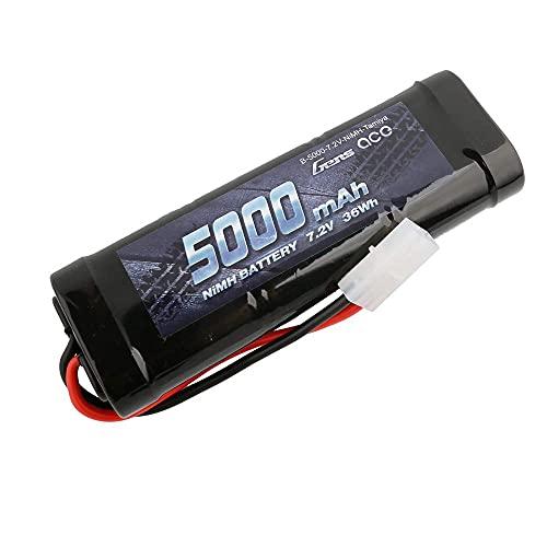 Gens Ace RC Batterie 7.2V 5000mAh 6 Cellules NIMH Batterie P