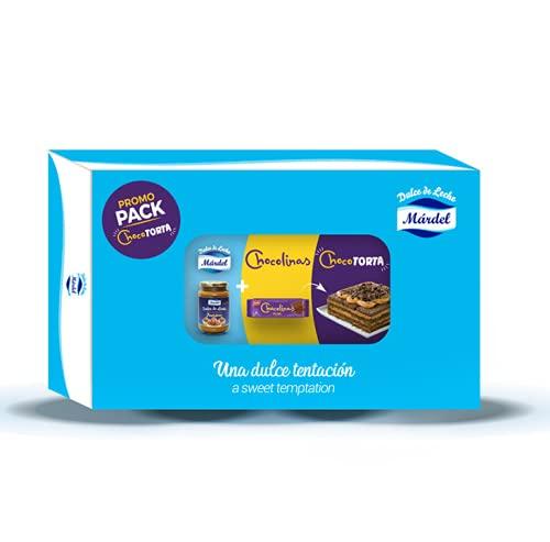 Mardel - Pack Chocotorta - Cada Pack Incluye Un Tarro de Dulce de Leche Pastelero de 450 g - · 4 Paquetes de Chocolinas - 2 Pack de Combo Chocotorta en Total