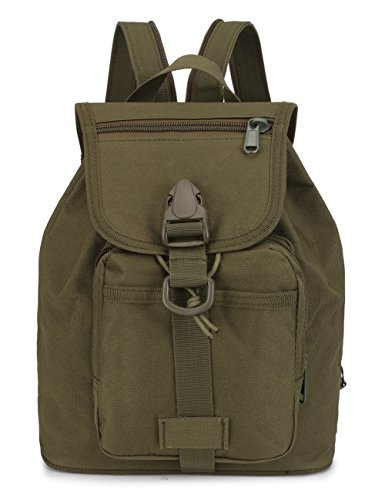 Product Image of the Mochila Military Cool Mochila Military Cool Mini Army Green Backpack Water...
