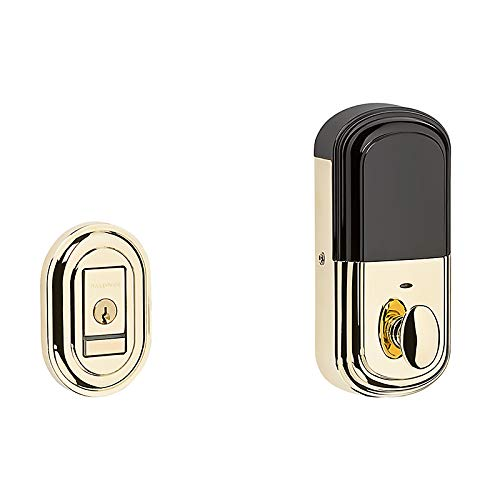 Traditional Polished Brass Smart Deadbolt