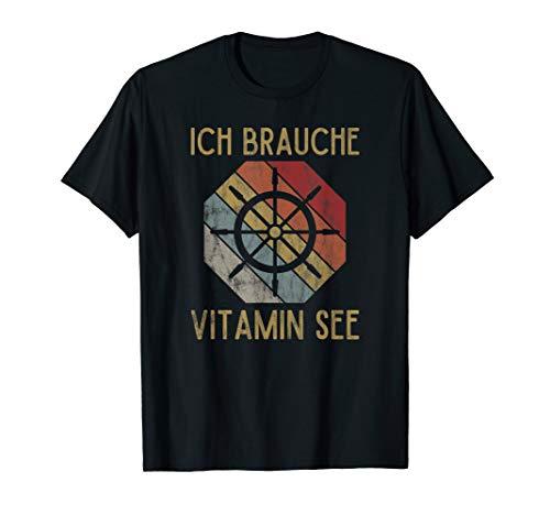 Kreuzfahrt Segeln Kreuzfahrer Seereise | Vitamin See T-Shirt