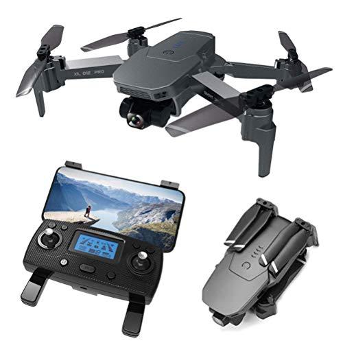 DCLINA Mini droni per Adulti, Drone con Fotocamera 4K HD, Drone 5G WiFi FPV, quadricottero UAV per Bambini, Tempo Volo 28 Minuti, Giunto cardanico Meccanico a 2 Assi, Resistenza al Vento Livello 7