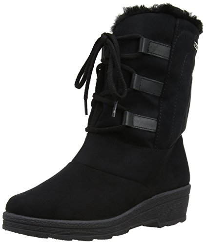 Rohde Shoes 287290, Damen Stiefel, Schwarz, 37 EU / 4 UK