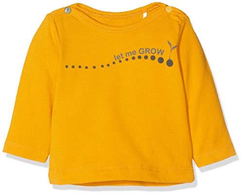 Imps & Elfs Baby-Unisex U Long Sleeve T-Shirt, Gelb (Sunflower P076), (Herstellergröße: 62)
