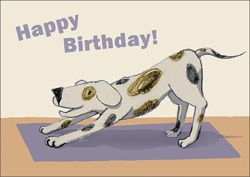 De verjaardagskaart voor honden en hondenliefhebbers: Happy Birthday • ook voor direct verzenden met uw persoonlijke tekst als inlegger. • Mooie wenskaart voor het verjaardagskind met envelop zakelijk & privé