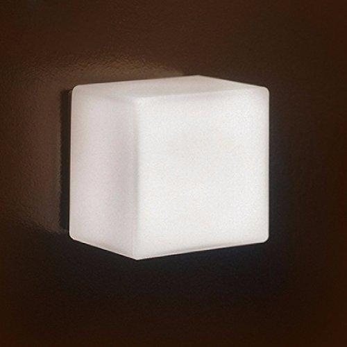 ZPSPZ Applique Murale Mode Simple Personnalité Moderne Sugar Cube Corridor Feu Feu Au Chevet Des Parois De Verre