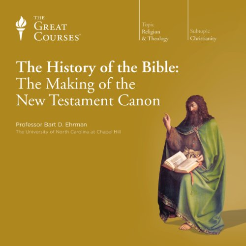 『The History of the Bible: The Making of the New Testament Canon』のカバーアート