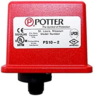 POTTER PS10-2 WATERFLOW Pressure Switch SPDT