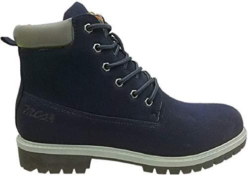 MCS Marlboro Classic Boots Stiefel Winterstiefel Haerzong MX172.M.897 dunkelblau, Schuhgröße:42 EU