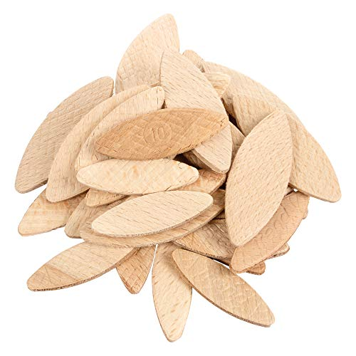 Trend BSC/MIX/100 Number 0, 10, 20 Beechwood Joining Biscuits Variety, Pack...