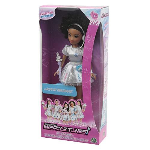 Giochi Preziosi Miracle Tunes Fashion Doll Jasmine, Vestizione White Transformation