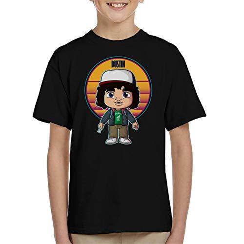 Cloud City 7 Stranger Things Cute Dustin Kid's T-Shirt