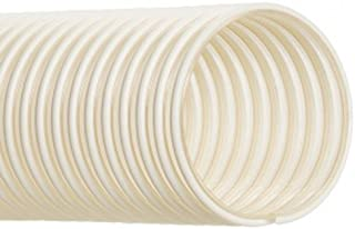 Hi-Tech Duravent Thermoplastic Polyurethane Static Dissipative Duct Hose 25 Length Clear 2.2700 OD 2 ID