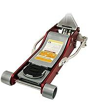 WEIMALL ジャッキ 3t アルミ スチール デュアルポンプ 低床 軽量 高耐久 ローダウン車 ジャッキアップ ガレージジャッキ 油圧ジャッキ