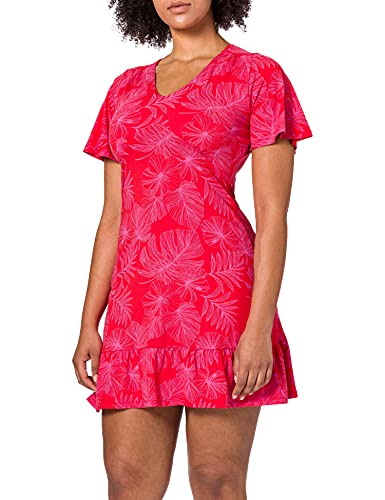 Desigual Vest_Nadia Vestido Casual, Rojo, XL para Mujer