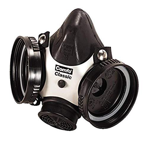 MSA Safety 808053Comfo Classic media máscara cara mascarilla, medio, negro