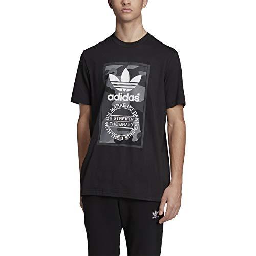 adidas Originals Men's Camo Tee, multi/carbon, Large