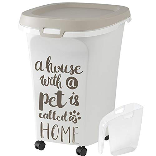 Contenedor de Almacenamiento M L o XL dispensador de Semillas para Mascotas, Mascotas, Perros, Gatos, pájaros